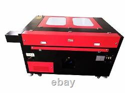 100W 1290 CO2 Laser Engraving Cutting Machine/Engraver Cutter MDF Acrylic/4735