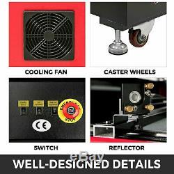 100W CO2 USB Laser Engraving Cutting Machine Wood Cutter 900X600mm USA stock