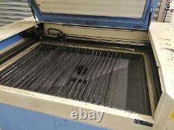 1300mm x 900mm 60W Co2 Laser Engraving Cutting Machine, Exhaust Fan, CW-3000