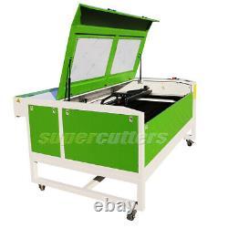 130W CO2 Chiller Ruida Laser Cutting Machine Laser Cutter 1300 x 900mm USB