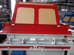130W Reci W6 1612 Laser Engraving Cutting Machine/Wood Engraver Cutter 1.61.2m