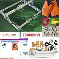 15000mW Laser Engraving Machine Cutting Engraver Desktop CNC Carver DIY