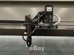 150W 1325 CO2 Laser Cutting Machine CCD Dot Mark Cut Fabrics Acrylic 13002500mm