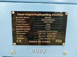150W 1490M CO2 Laser Cutting Machine/Steel Metal Nonmetal MDF Wood Laser Cutter