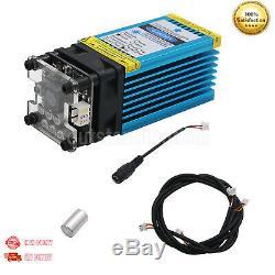15W 450nm Blue Laser Module Laser Cutting Module For DIY Laser Engrave 3mm sz//