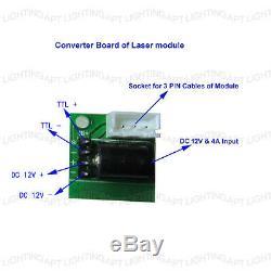 15W Laser Head Engraving Module Metal Marking Wood Cutting For Engraver +Adaptor