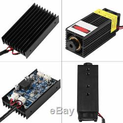 15W Laser Module 450nm Blu-ray withTTL Wood Marking Cutting Tool