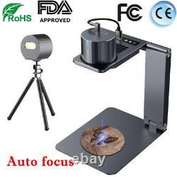 1600MW USB Laser Engraving Cutting Machine DIY Logo Printer CNC Engraver Desktop