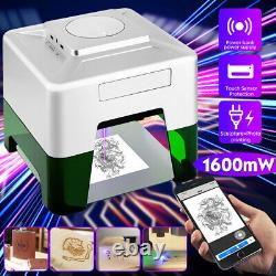 1600MW Wireless CNC Laser Engraving Cutting Machine 3W DIY Engraver App Control