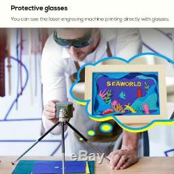 1600mW DIY Portable Desktop Bluetooth Laser Engraving Cutting Machine Engraver