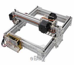 1600mW Desktop Laser Engraving Machine DIY Cutting Logo Picture Marking Printer