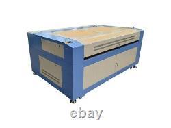 180W HQ1810 CO2 Laser Engraving Cutting Machine Acrylic Plywood Cutter/18001000