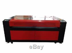 200W HQ1810 CO2 Laser Engraving Cutting Machine/Wood Engraver Cutter 18001000mm