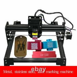 20W Laser Engraver 21x17cm Printer Wood Engraving Cutting Metal Marking Machine
