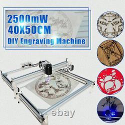 2500mW 4050cm Area Mini Laser Engraving Cutting Machine Printer Kit h