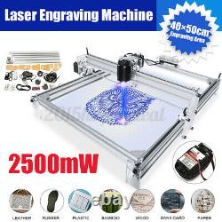 2500mW 4050cm Area Mini Laser Engraving Cutting Machine Printer Kit i