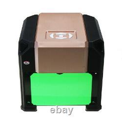 3000MW 3D CNC Laser Engraving Cutting Machine USB Engraver DIY Mark Printer