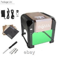 3000MW USB Laser Engraving Cutting Machine DIY Logo Printer CNC Engraver Machine