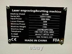 300W 1325M CO2 Metal Steel/MDF PlyWood Acrylic Laser Cutting Machine Cutter 48
