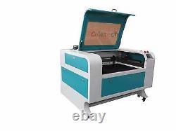 35.5x23.5 80W Co2 Laser Engraving Cutting Machine 90W -100W CO2 laser tube