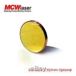 3pcs Dia. 20mm Cu Copper Reflection Mirror CO2 Laser Cutting Engraving Cutter