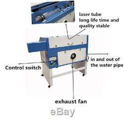400600mm laser engraving and cutting machine with M2 system Acrylic desktop FDA