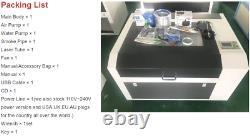 4060 60W High Precision CO2 laser cutting machine Laser Cutting Glass Engraving