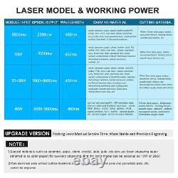 40W CNC Laser Module Head Kit For Laser Engraving Cutting Machine Printer Cutter