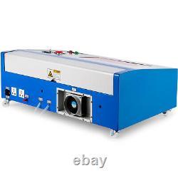40W CO2 Laser Engraver Cutting Machine 300200MM Crafts Cutter USB Interface DIY
