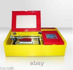 40W CO2 Laser stamp Engraving Cutting Machine Engraver Cutter