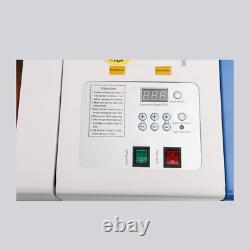 40W CO2 USB laser Engraving Cutting Machine Engraver Cutter 220V/110V