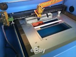 40W Desktop Laser Engraver Rubber Stamp CO2 Cutting 200mm300mm Laserdrw