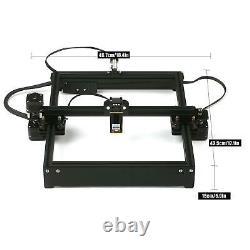 40W Laser Engraving Cutting Machine DIY Laser Engraver Cutter Printer CNC Router