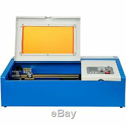 40W USB Laser Engraver Cutter Engraving Cutting Machine Laser Printer CO2 128