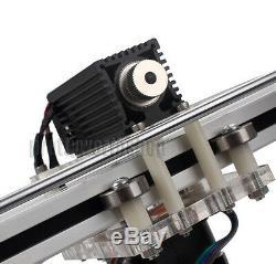445nm 1.6W 1600MW Blue Laser Violet Module 5V For DIY Engraving Cutting Machine