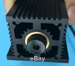 445nm 5.5W 5500MW Blue Violet TTL Diode Laser Module For DIY Engraving Cutting