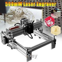 500MW DIY Mini Adjustable Laser Engraving Cutting Machine Desktop Printer Kit