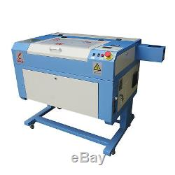 500x300mm 60W USB CO2 Laser Engraving Machine Cutting Engraver Water Chiller