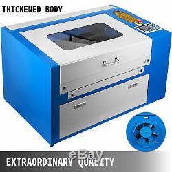 50W 20x12 CO2 Laser Engraver Cutting Machine Engraving Machine 110V