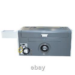 50W CO2 500x300mm Mini Laser Engraver Engraving Cutting Machine USB Water Pump