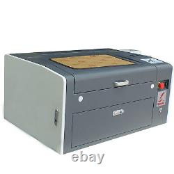 50W CO2 Laser Engraving Cutting Machine 500300mm with Motorized Up and Down
