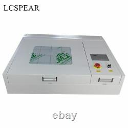 50W CO2 laser engraving and cutting machine 4040 laser engraver and cutter free