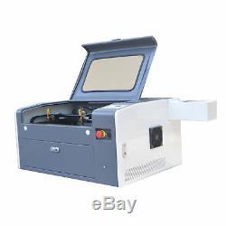 50W Laser Tube CO2 USB LASER ENGRAVING CUTTING MACHINE 500300mm