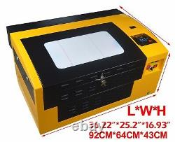 50W USB CO2 Laser Engraving Cutting Machine Engraver 3050 Layered Carving