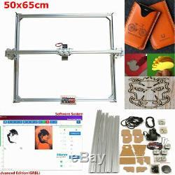 50x65cm Laser Engraving Cutting Engraver Frame Motor Kit For DIY Laser NEW