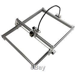 5500mW USB CNC Laser Engraver Wood Cutting Marking Machine 100x100cm DIY Kit