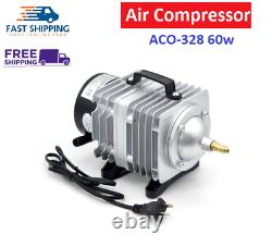 60W Air Compressor Electrical Magnetic Pump CO2 Laser Engraving Cutting ACO-328