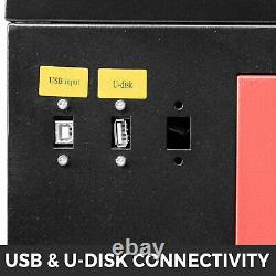 60W CO2 Laser Engraving Cutting Machine 20x28 Engraver Cutter USB Port