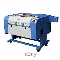 60W Co2 Laser Engraving & Cutting Machine Laser Engraver USB 700x500mm