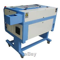60W Laser Engraver Engraving Cutting Machine 500300(mm) + Rotary Axis